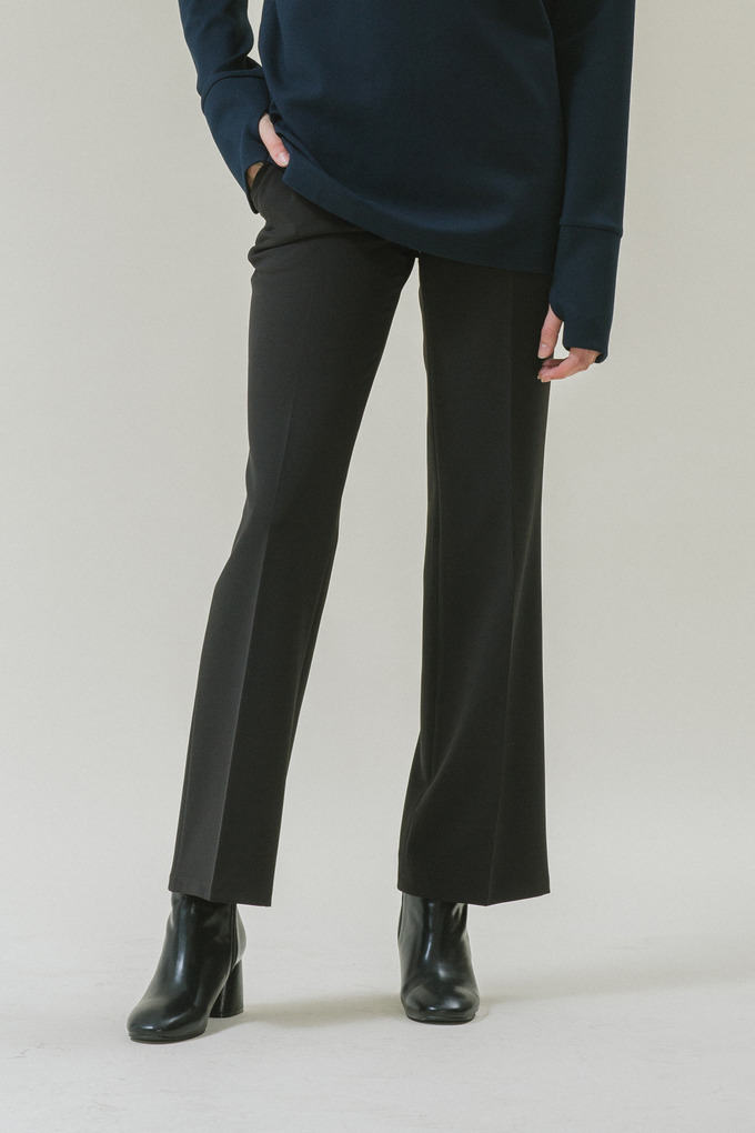 BOOTS CUT TROUSERS - BLACK